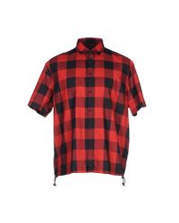 DSquared²   Red Shirt for Men   Lyst
