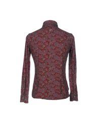 Domenico Tagliente | Purple Shirt for Men | Lyst