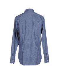 Agho - Blue Shirt for Men - Lyst
