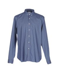 Agho | Blue Shirt for Men | Lyst