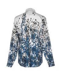 Just Cavalli - Gray Shirt - Lyst