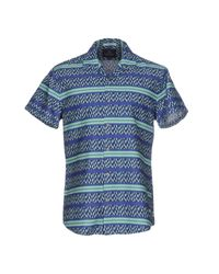 Scotch & Soda - Blue Shirt for Men - Lyst