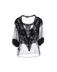 Givenchy - Black Blouse - Lyst
