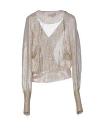 Genny - Natural Blouse - Lyst