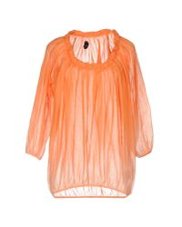 Nolita - Orange Blouse - Lyst