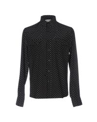 Saint Laurent - Black Shirt for Men - Lyst