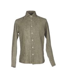 Brian Dales - Gray Shirt for Men - Lyst