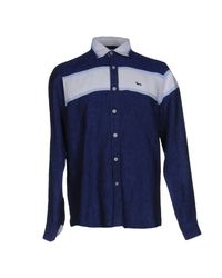 Harmont & Blaine | Blue Shirt for Men | Lyst