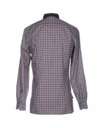 Lanvin - Purple Shirt for Men - Lyst