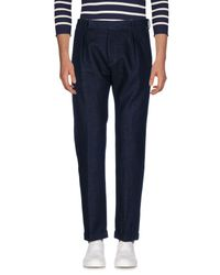 Paul Smith - Blue Denim Pants for Men - Lyst