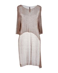 Manila Grace - Metallic Sweater - Lyst