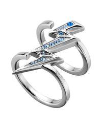 Just Cavalli - Metallic Ring - Lyst
