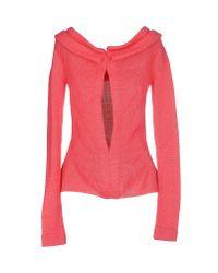 Yohji Yamamoto - Pink Sweater - Lyst