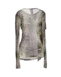 Plein Sud Jeanius - Gray Sweater - Lyst