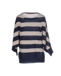 Liu Jo - Blue Sweater - Lyst