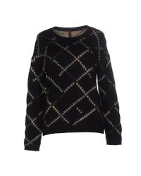 Manila Grace | Black Sweater | Lyst