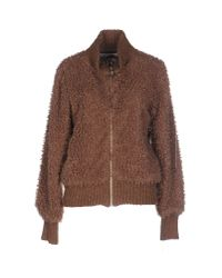 Soho De Luxe - Brown Jacket - Lyst