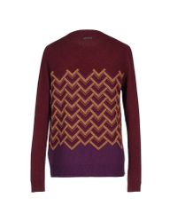 Just Cavalli - Purple Sweater - Lyst