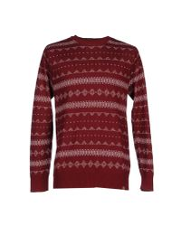 Obey | Red Jumper for Men | Lyst