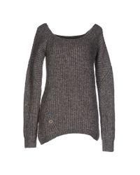 Manila Grace   Gray Sweater   Lyst