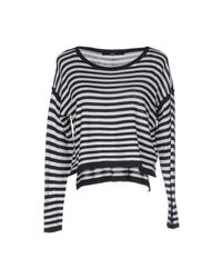 ONLY - Blue Sweater - Lyst
