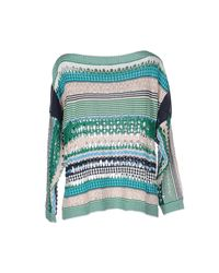 Pinko Green Sweater