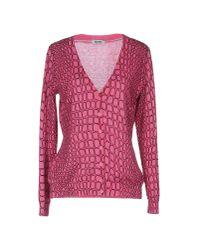 Boutique Moschino | Purple Cardigan | Lyst