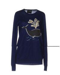 Markus Lupfer - Blue Sweater - Lyst