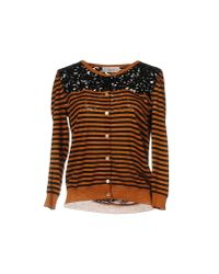Jucca - Brown Cardigan - Lyst
