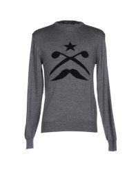 Frankie Morello | Gray Sweater for Men | Lyst