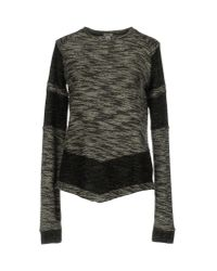 INTROPIA - Black Sweater - Lyst