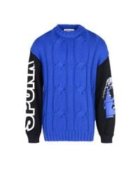 Moschino Couture | Blue Jumper for Men | Lyst