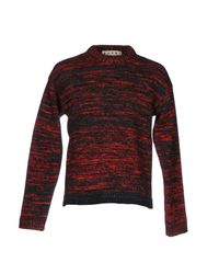 Marni | Red Sweater | Lyst