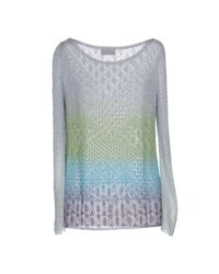 Missoni - Gray Sweater - Lyst