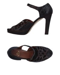Rose's Roses - Brown Sandals - Lyst