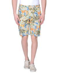Blend - Natural Bermuda Shorts for Men - Lyst