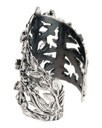 John Richmond - Metallic Bracelet - Lyst