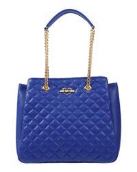 Love Moschino - Blue Handbag - Lyst
