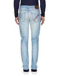 Camouflage AR and J. - Blue Denim Pants for Men - Lyst