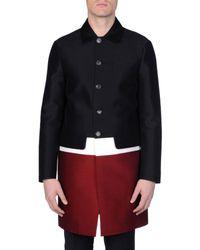 DSquared² - Black Full-Length Jacket for Men - Lyst