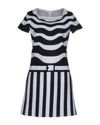Moschino - White Short Dress - Lyst