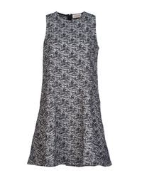 Calla - Black Short Dress - Lyst
