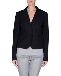 Just Cavalli - Blue Blazer - Lyst