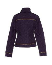 Just Cavalli - Purple Jacket - Lyst