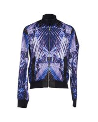 Just Cavalli - Purple Jacket for Men - Lyst