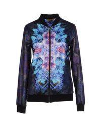 Fifteen & Half | Purple Jacket | Lyst