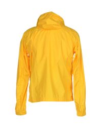 Obvious Basic - Yellow Jacket for Men - Lyst