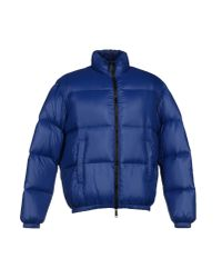 DSquared² | Blue Down Jacket for Men | Lyst