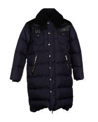 DSquared²   Blue Down Jacket for Men   Lyst