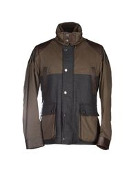 Henry Cotton's | Brown Jacket for Men | Lyst